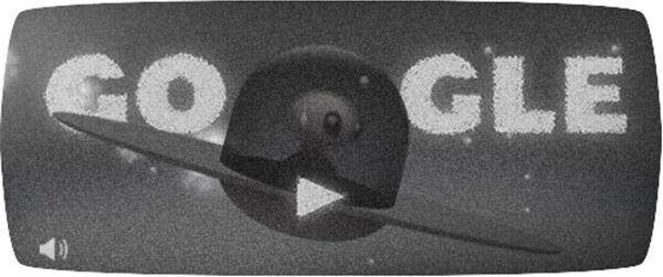 Il Google doodle di oggi celebra il 66esimo anniversario dell'incidente di Roswell