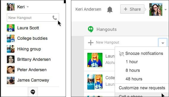 Come effettuare chiamate vocali tramite Hangouts, su Gmail, Google+ e con l'estensione ufficiale Chrome