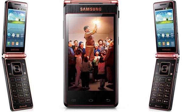 Samsung SCH-W2013, lo smartphone clamshell con Android lanciato in Cina