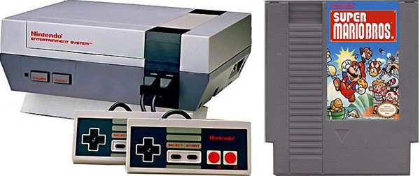 NES (Nintendo Entertainment System), la versione europea della console commercializzata in occidente tra il 1985 e il 1986