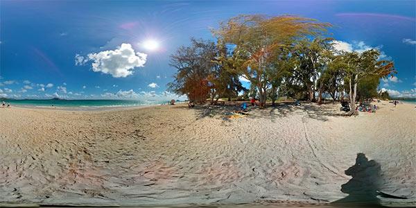 Un panorama Photo Sphere scattato con Android 4.3 Jelly Bean
