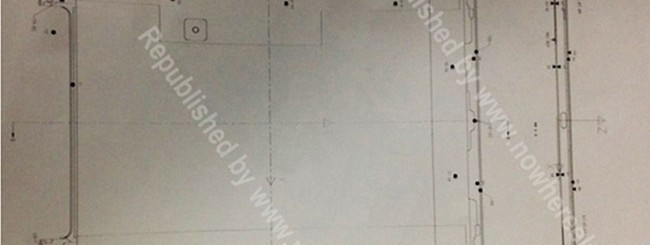 iPad 5, schemi del Design.