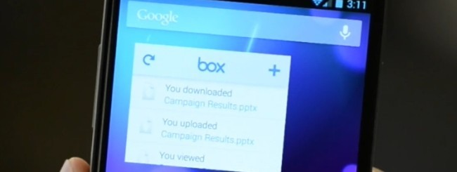 Box per Android