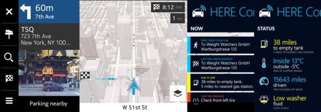 Il sistema di navigazione sviluppato da Nokia.