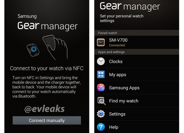 Samsung Gear manager, l'app compagno per lo smartwatch
