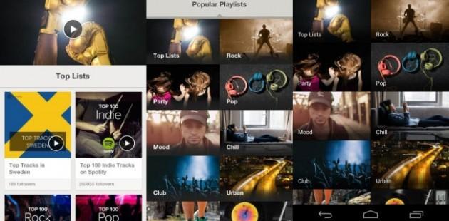 La nuova feature che permette di sfogliare le migliori playlist create dagli utenti.