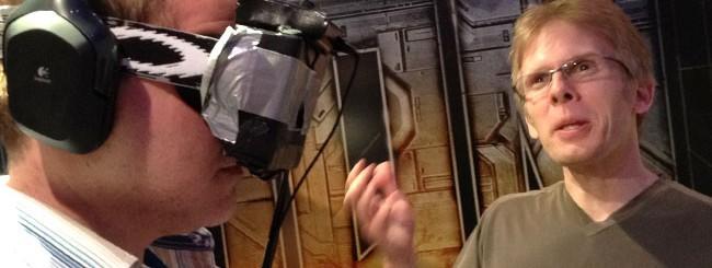 John Carmack con Oculus Rift