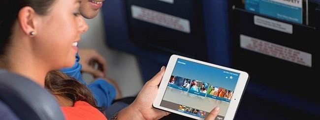iPad Mini in aereo