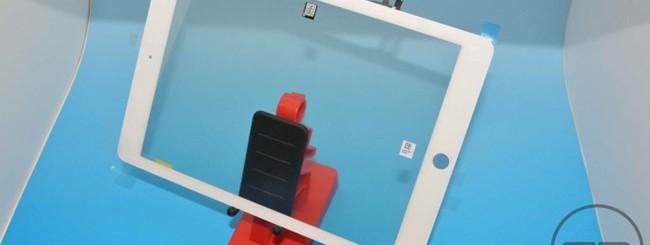 iPad 5, il vetro frontale