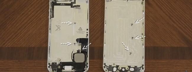 iPhone 5 e iPhone 5S