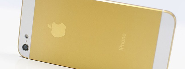 iPhone 5S color oro
