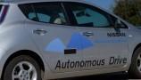 Nissan, le immagini dei prototipi Driverless Car