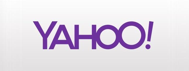 Esempio del nuovo logo Yahoo