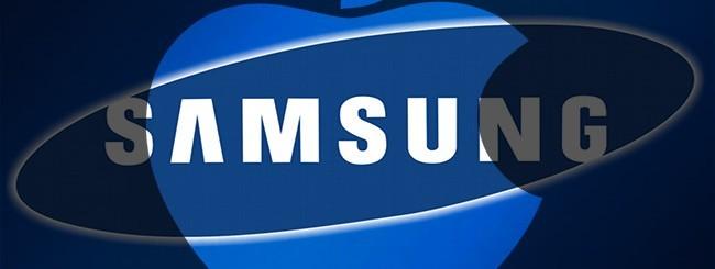 Loghi Samsung e Apple