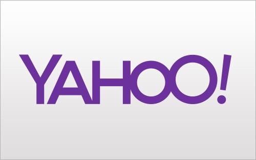 Yahoo, il primo nuovo logo