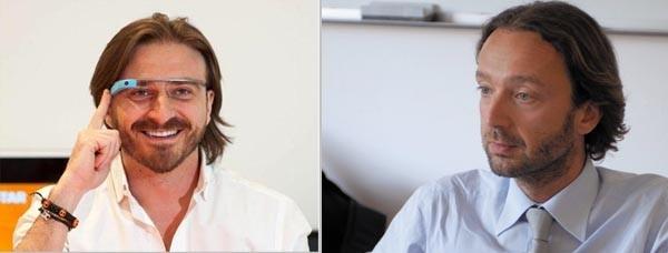 (da sin.): Max Ciociola e Pierantonio Macola. I due nuovi ingressi in Italia Startup. Il primo è famoso per la sua esperienza in DADA. Il secondo  è dal 2007 Amministratore Delegato di Smau.