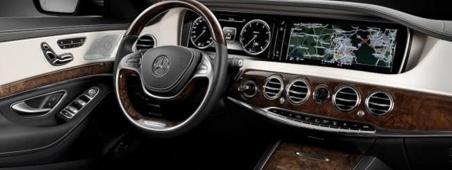 Mercedes Classe S 2014 dashboard