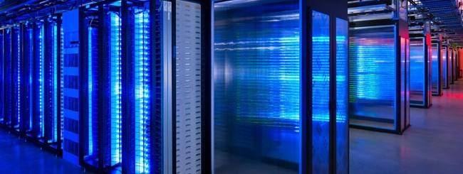 Server room Facebook