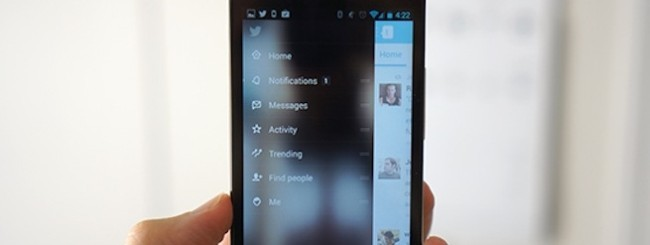 Twitter per Android 5.0 beta