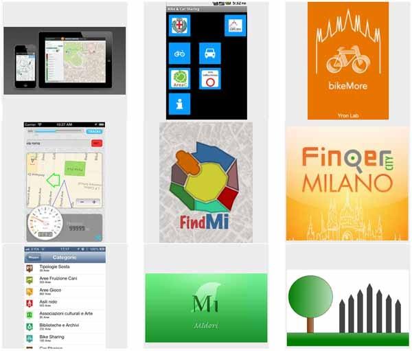 Tra le 64 app selezionate dal contest, molte idee per la mobilità e il risparmio energetico. Alla base, gli open data del Comune di Milano.