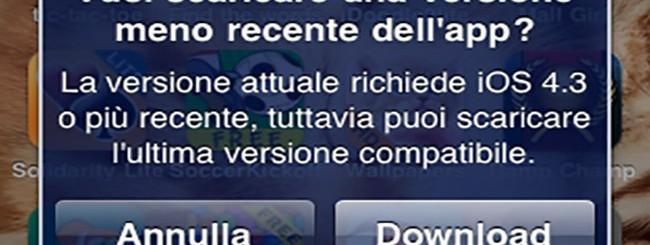 Compatibilità in App Store