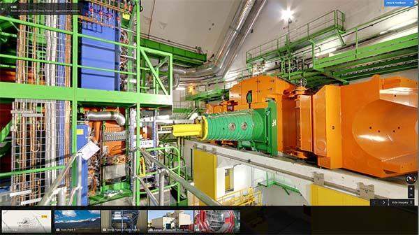 I laboratori del CERN immortalati da Google per la piattaforma Street View