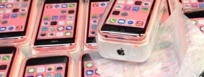 iPhone 5C, le confezioni