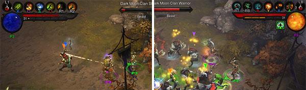 Screenshot per le versioni PS3 e Xbox 360 di Diablo 3, da oggi anche su console