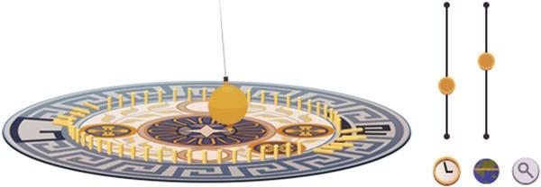 Il Google doodle di oggi è dedicato a Léon Foucalt