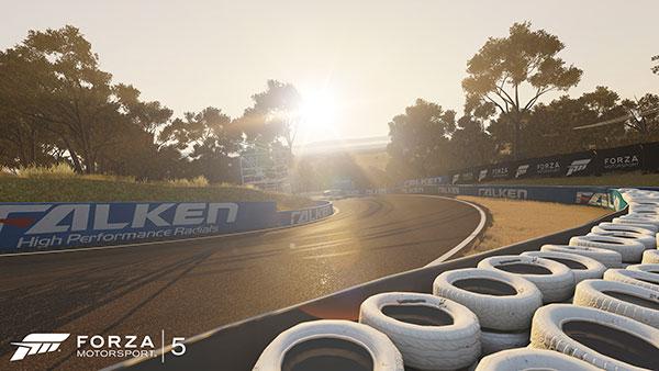 Il circuito di Bathurst in Forza Motorsport 5