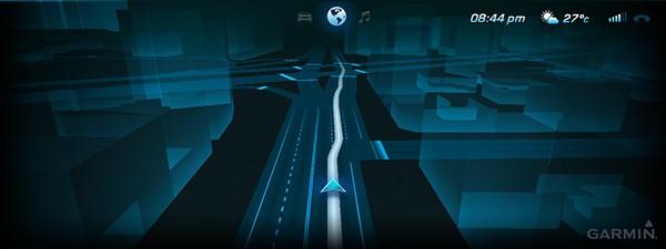 La navigazione 3D di Garmin sulla Mercedes-Benz Concept S-Class Coupé