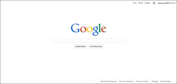 Il possibile restyling per l'homepage di Google