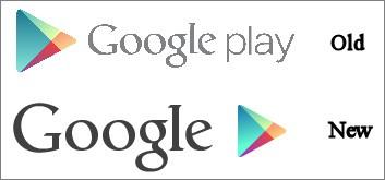 Piccola modifica per il logo della piattaforma Google Play