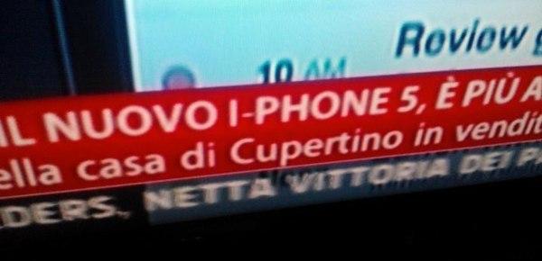 I-Phone su SkyTG24