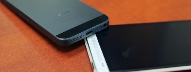 iPhone 5 e HTC One