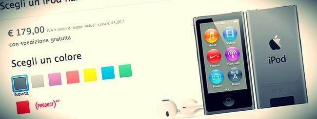 iPod Nano grigio