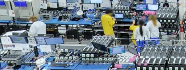 La fabbrica del Moto X