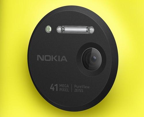 Obiettivo posteriore del Nokia Lumia 1020
