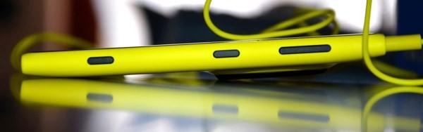 Nokia Lumia 1020, appoggio orizzontale
