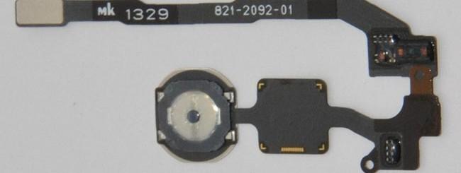 iPhone 5S, sensore impronte