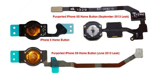 Tasti di iPhone 5 e 5S