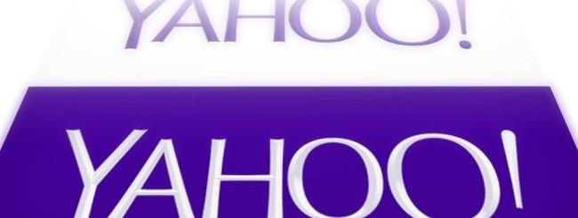 Nuovo logo Yahoo