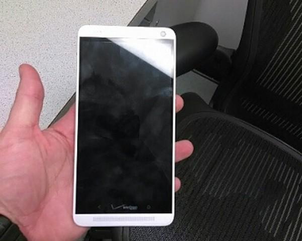HTC One Max, una immagine da un dipendente Verizon
