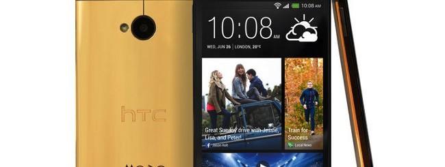 HTC One, edizione oro