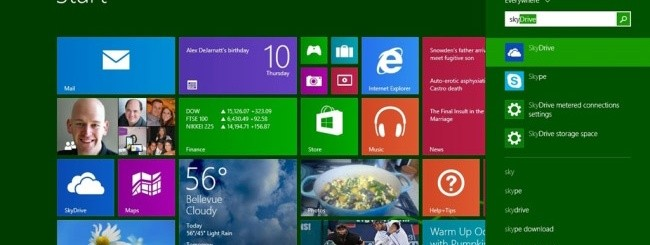 Windows 8.1 Smart Search