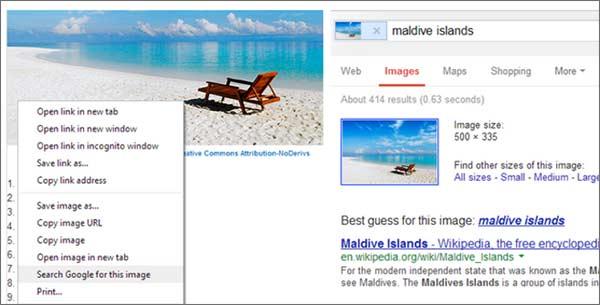 Il nuovo strumento per la ricerca delle immagini in Google Chrome