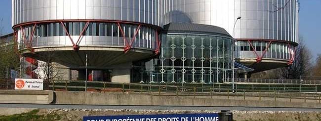 Corte Europea Strasburgo Diritti Uomo
