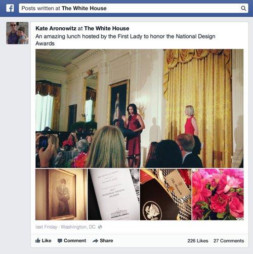 Esempio di ricerca su Facebook