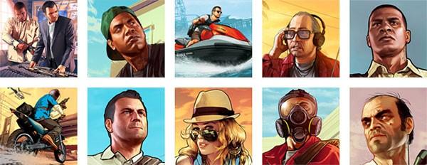Gli avatar di Grand Theft Auto 5 disponibili per gli utenti PlayStation 3