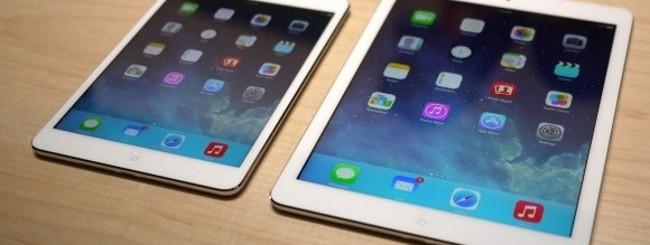 iPad Mini Retina e iPad Air